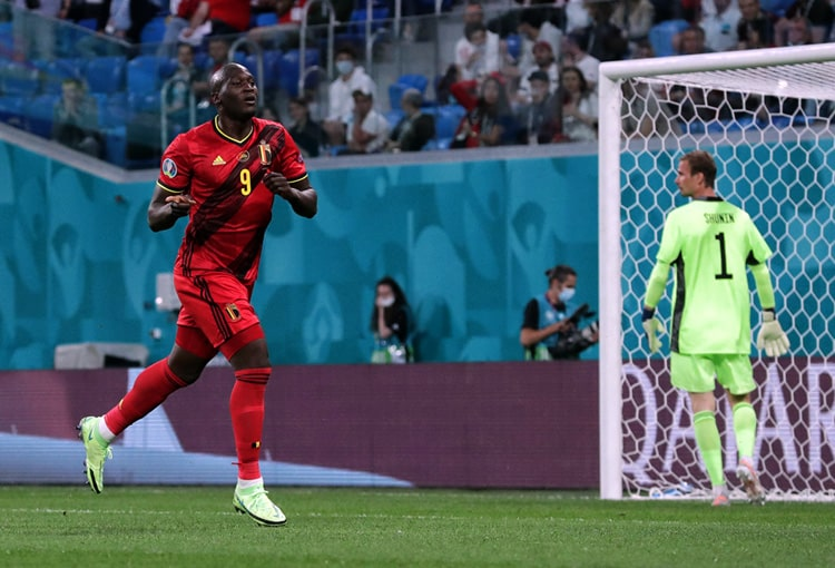 Romelu Lukaku, Selección de Bélgica, Selección de Rusia, Eurocopa 2020