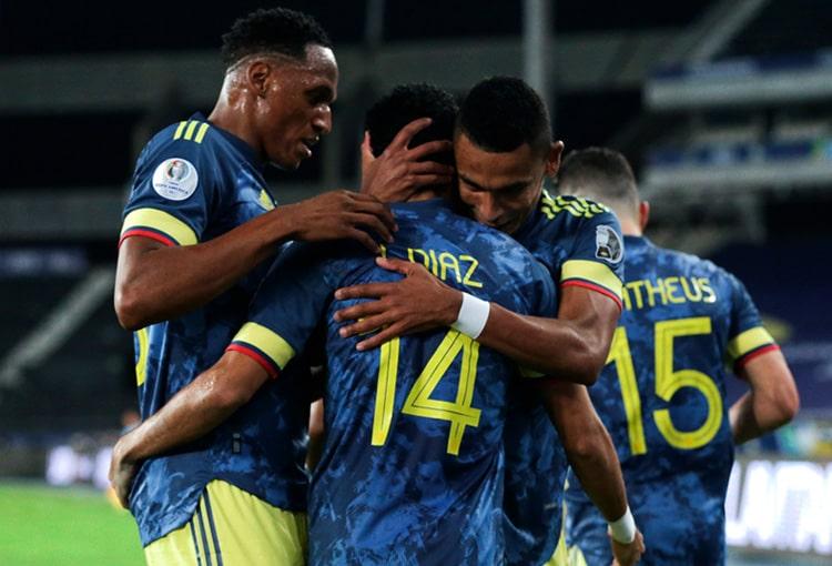 Selección Colombia y su mala racha en los cuartos de final en Copa América