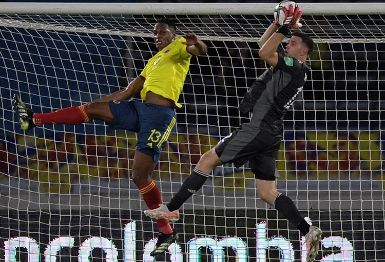 Selección Colombia, Selección de Argentina, Eliminatorias al Mundial de Fútbol Qatar 2022