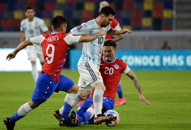 Selección de Argentina, Selección de Chile, Eliminatorias al Mundial de Fútbol Qatar 2022