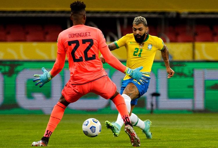 Selección de Brasil, Selección de Ecuador, Eliminatorias al Mundial de Fútbol Qatar 2022