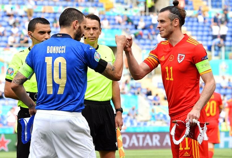 Selección de Italia, Selección de Gales, Selección de Suiza, Selección de Turquía, EURO 2020