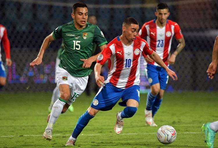 Selección de Paraguay, Selección de Bolivia, Copa América Brasil 2021