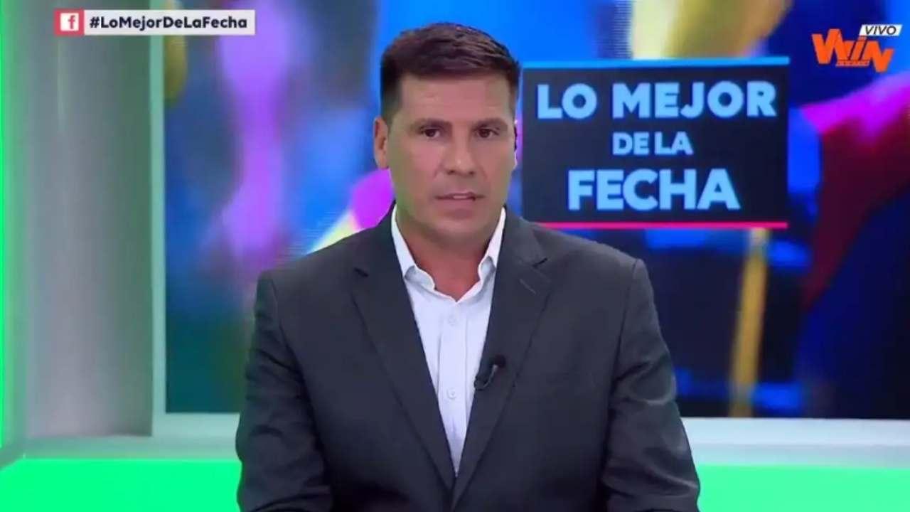 Tras salir del América de Cali, Juan Cruz Real debutó como analista en Win Sports