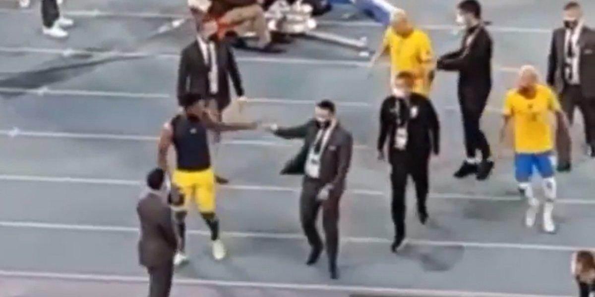 Video: Lo que ocurrió entre Borja y Neymar