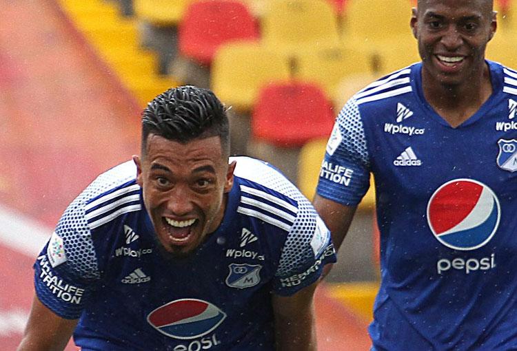 Fernando Uribe, del casi fichaje con Junior a los goles que llevan a Millonarios a la final