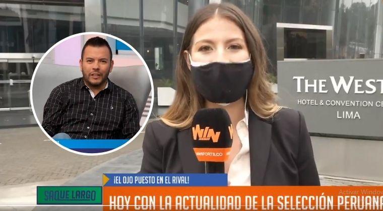 Rechazan actitud y comentarios de Daniel Pérez frente a periodista peruana