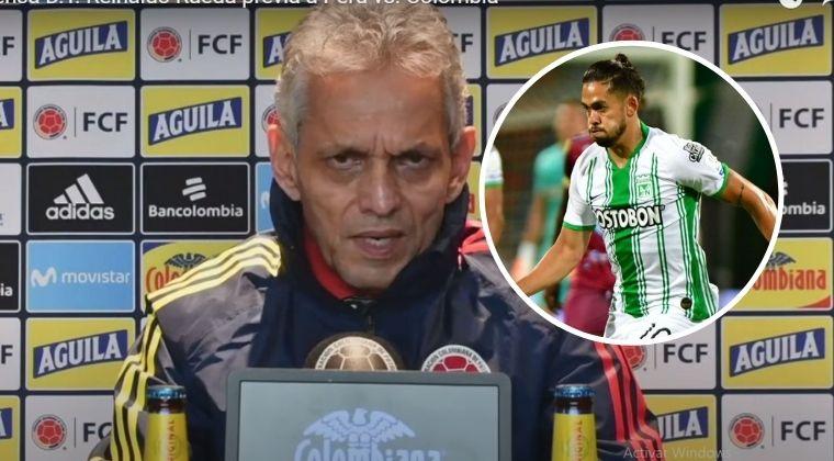 Reinaldo Rueda aclaró la situación del 'Rifle' Andrade con la Selección Colombia