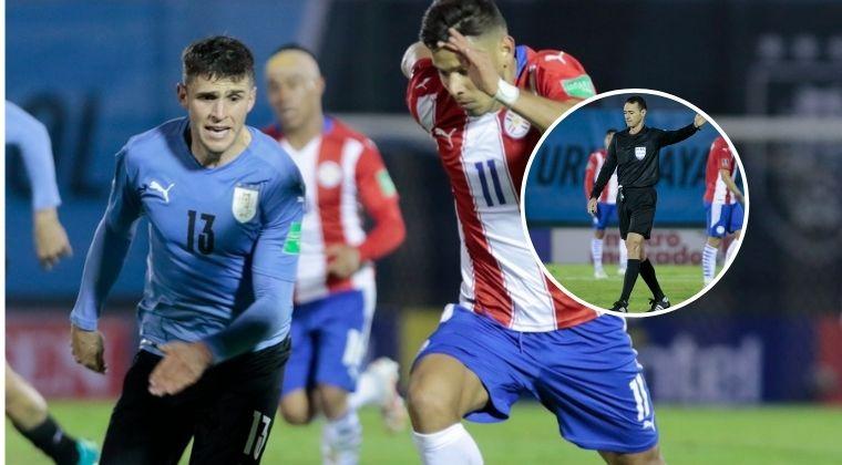 Wilmar Roldán, protagonista en el empate a cero goles entre Uruguay vs. Paraguay