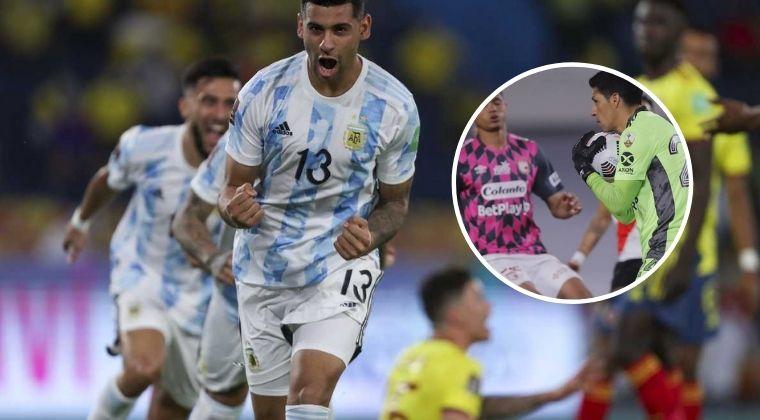 Colombia vs. Argentina recordó el River Plate ante Santa Fe