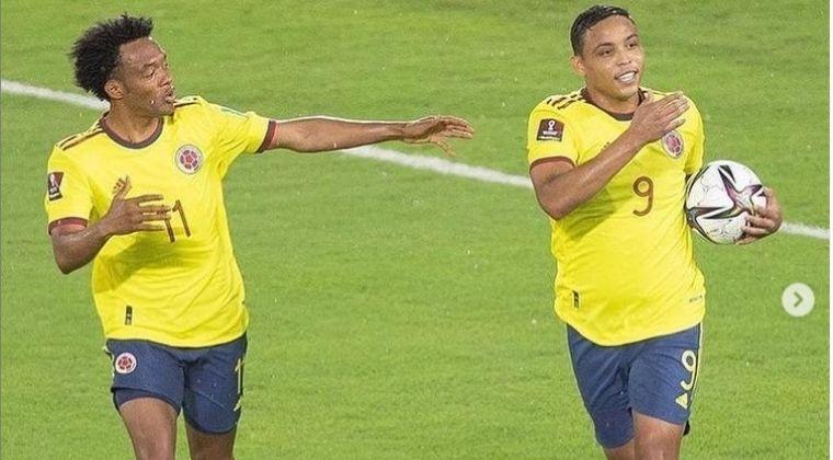 Así reaccionó Juan Guillermo Cuadrado tras el empate de Colombia ante Argentina
