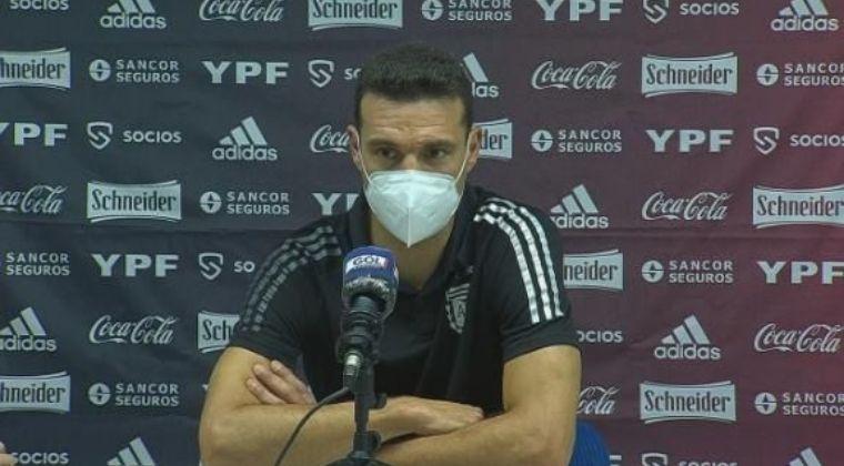 Lionel Scaloni y la bronca del empate sobre el final de Colombia ante Argentina