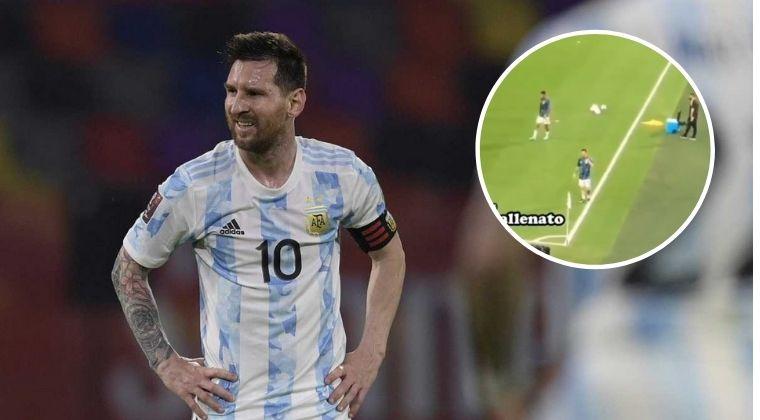 La humildad de Lionel Messi ante fuerte insulto de hincha colombiano