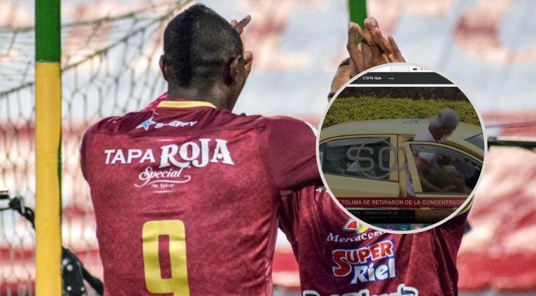 Jugadores del Deportes Tolima abandonaron la concentración antes de la final con Millonarios