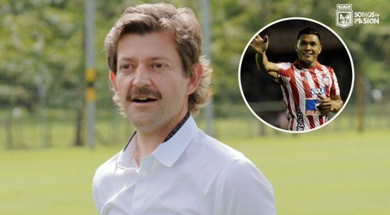 ¿Hay posibilidad de que Teo Gutiérrez llegue a Atlético Nacional? El presidente respondió