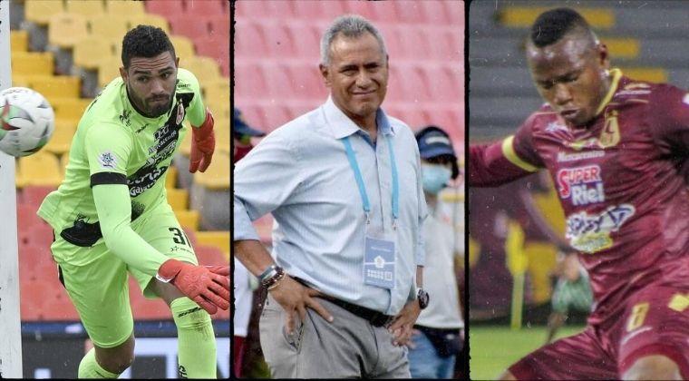 Deportes Tolima: Posible salida de Hernán Torres, Álvaro Montero y Jaminton Campaz