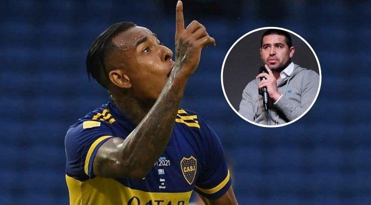 """Riquelme: """"Villa le faltó el respeto al club, a la camiseta, a sus compañeros"""""""