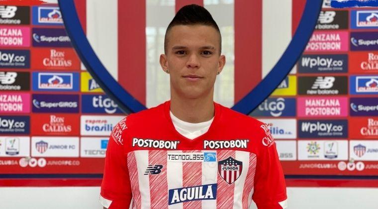 Junior FC hizo oficial la contratación de Walmer Pacheco