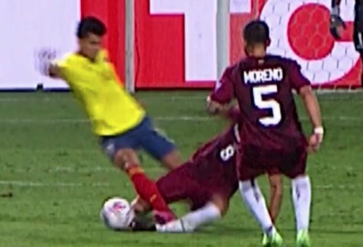 Expulsión de Luis Díaz y la otra baja de la Selección Colombia para enfrentar a Perú