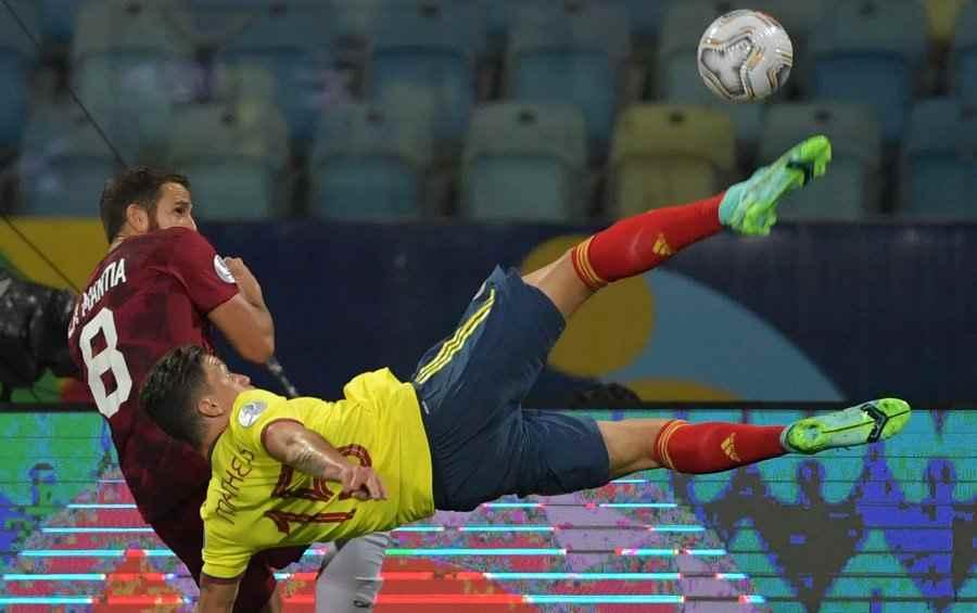 Colombia 0 - 0 Venezuela: Contra un paredón