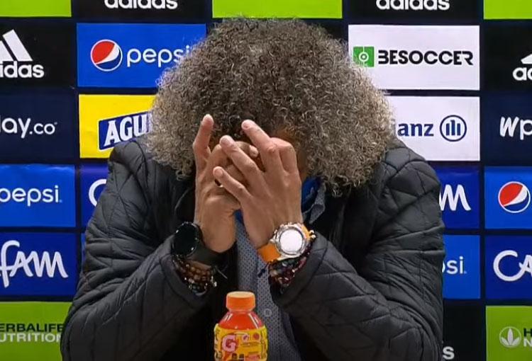 Las lágrimas de Gamero y la explicación a la derrota de Millonarios en la final