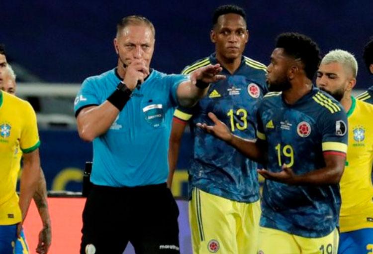 "Periodista brasileño: ""Pitana siempre amigo de Brasil operó vergonzosamente contra Colombia"""
