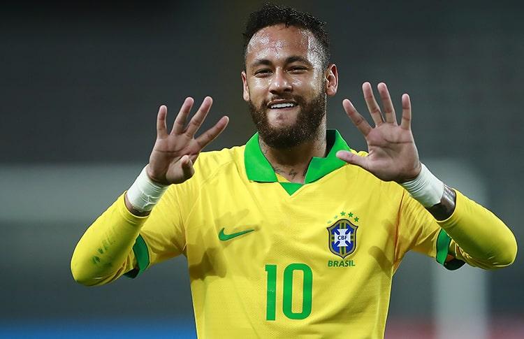 Neymar va por el récord de Pelé con Brasil en la Copa América