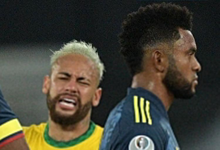 ¿Discusión entre Neymar y Miguel Borja? El reporte de la prensa en Brasil