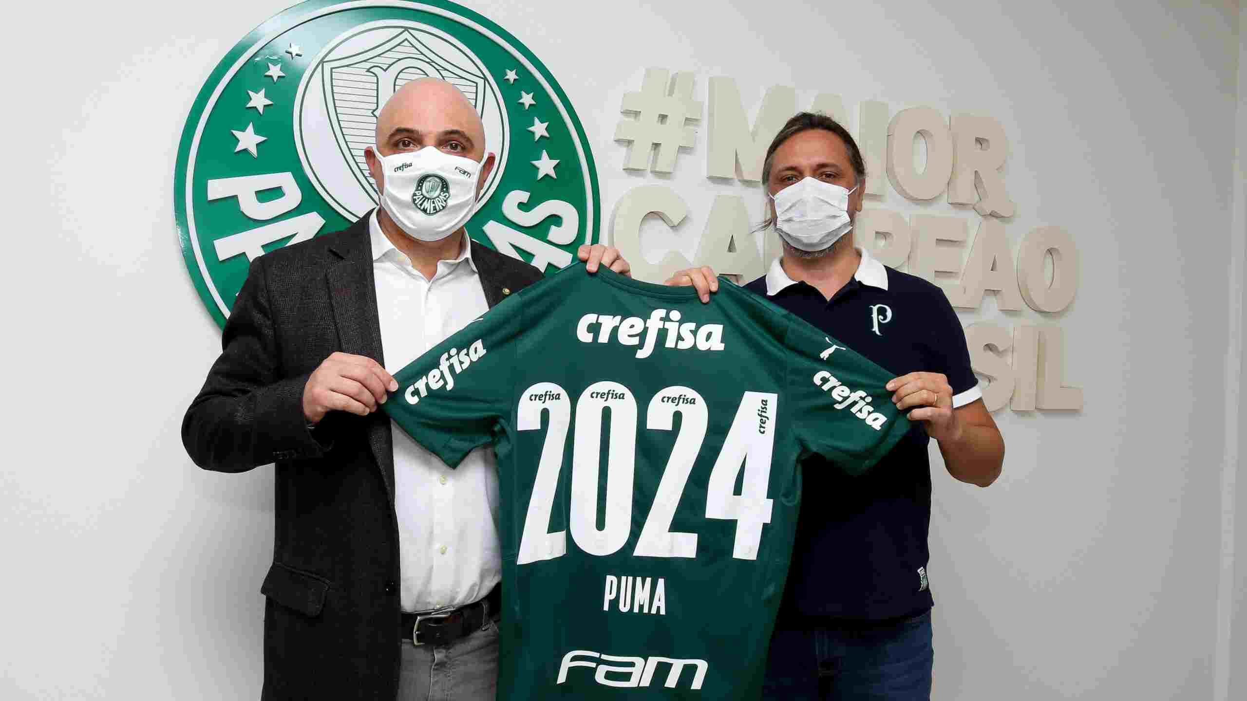 Puma y Palmeiras renuevan hasta el 2024