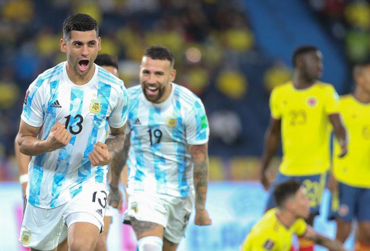 Antirrécord histórico de la Selección Colombia ante Argentina