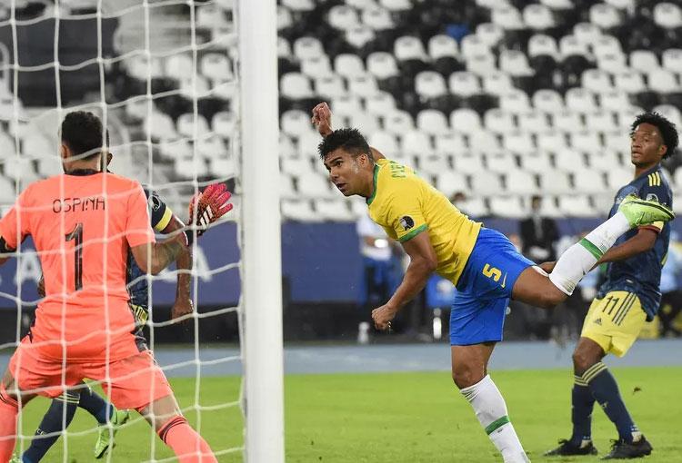 """Casemiro: """"Colombia hizo el gol y se quedó atrás, no quería jugar"""""""