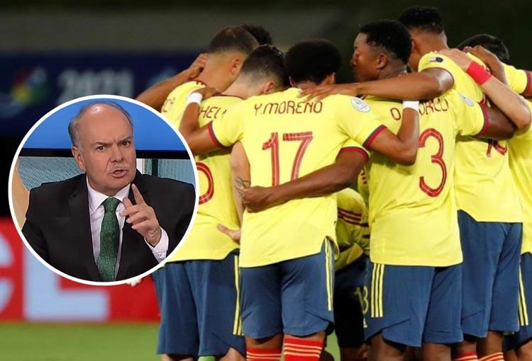 """Iván Mejía sobre el debut de la Selección Colombia en Copa América: """"Si solo vale el resultado, todo bien"""""""