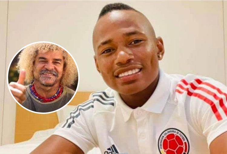 Jáminton Campaz fue convocado a la Selección Colombia y así reaccionó el Pibe Valderrama