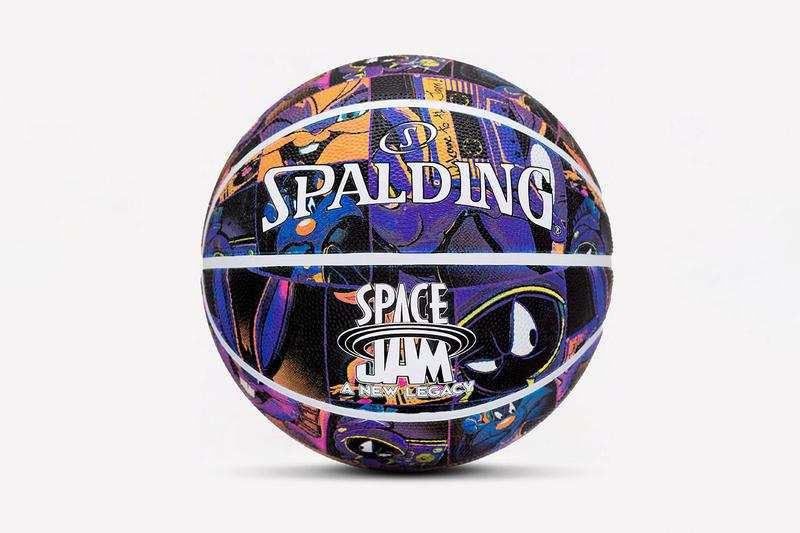 Spalding lanza una línea inspirada en Space Jam: A New Legacy