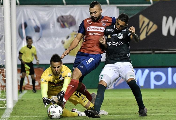 Andrés Cadavid, Deportivo Independiente Medellín, DIM, DaleRojo, Liga BetPlay 2021-II, América de Cali, Junior FC
