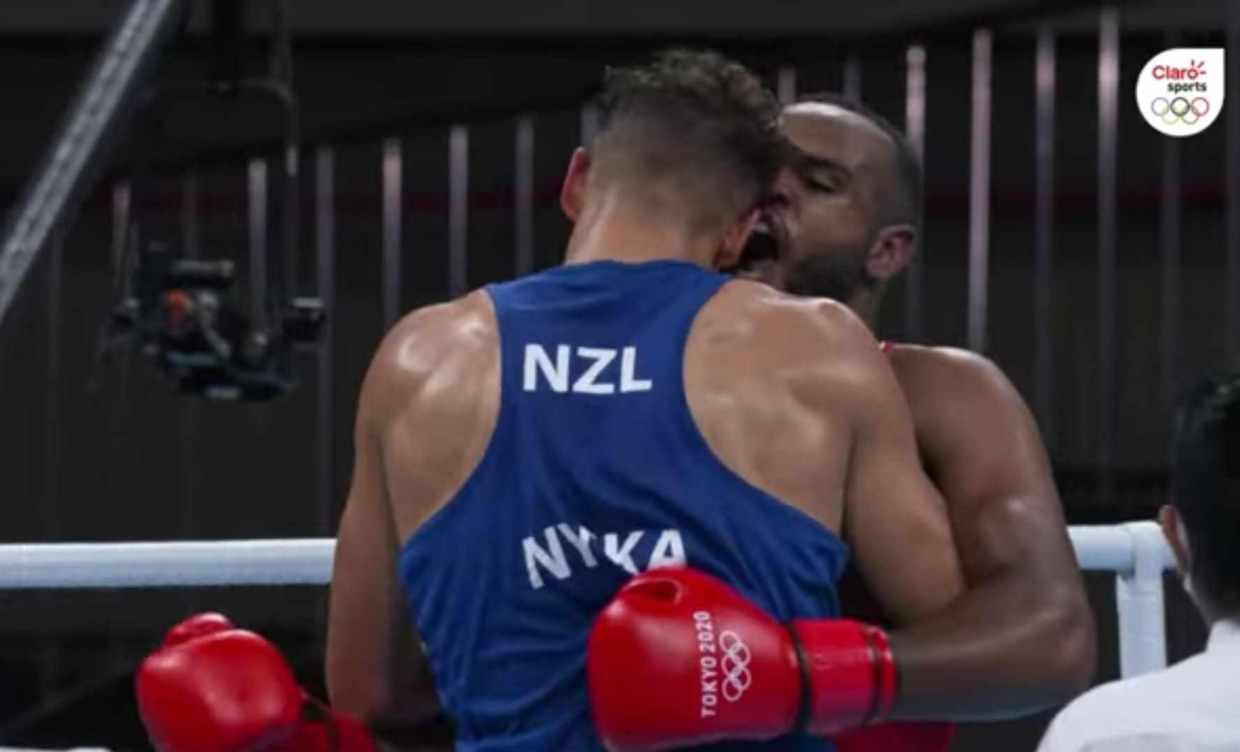 Boxeo en Tokio 2020: ¡Mordió la oreja de su rival!