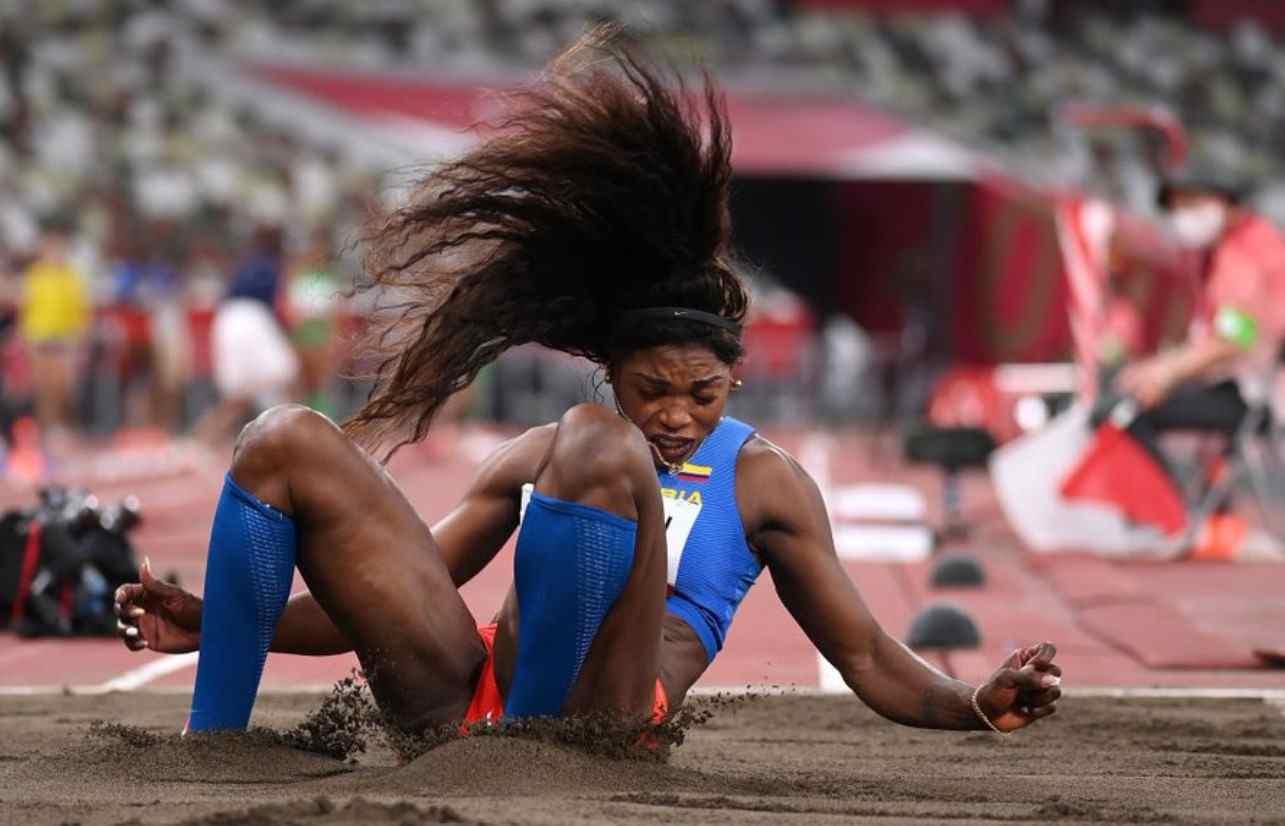 Caterine Ibargüen, ¡a la final del salto triple!