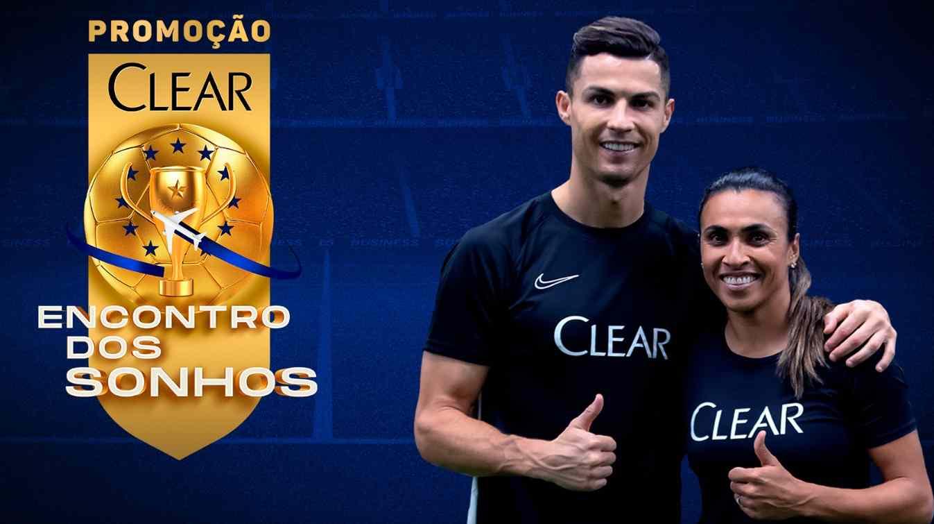 Clear promoverá un fan meeting con Marta y Cristiano Ronaldo