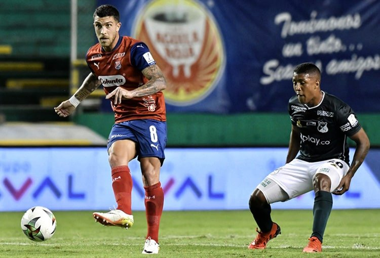 Deportivo Cali, Deportivo Independiente Medellín, DIM, Liga BetPlay 2021-II, fecha 2