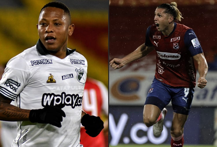 Deportivo Cali, Deportivo Independiente Medellín, DIM, Liga BetPlay 2021-II, titulares