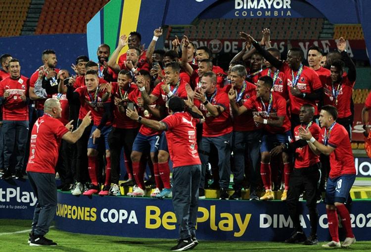 Deportivo Independiente Medellín, DIM, Copa BetPlay 2021, Once Caldas