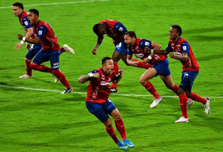 Deportivo Independiente Medellín, DIM, DaleRojo, Copa Colombia 2021, Once Caldas, en vivo online