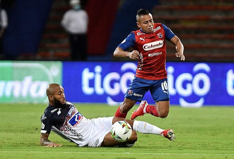 Deportivo Independiente Medellín, DIM, DaleRojo, Liga BetPlay 2021-II, Junior FC, crónica