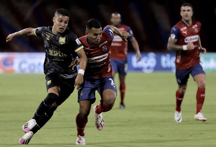 Deportivo Independiente Medellín, DIM, Liga BetPlay 2021-II, Águilas Doradas, fecha 1