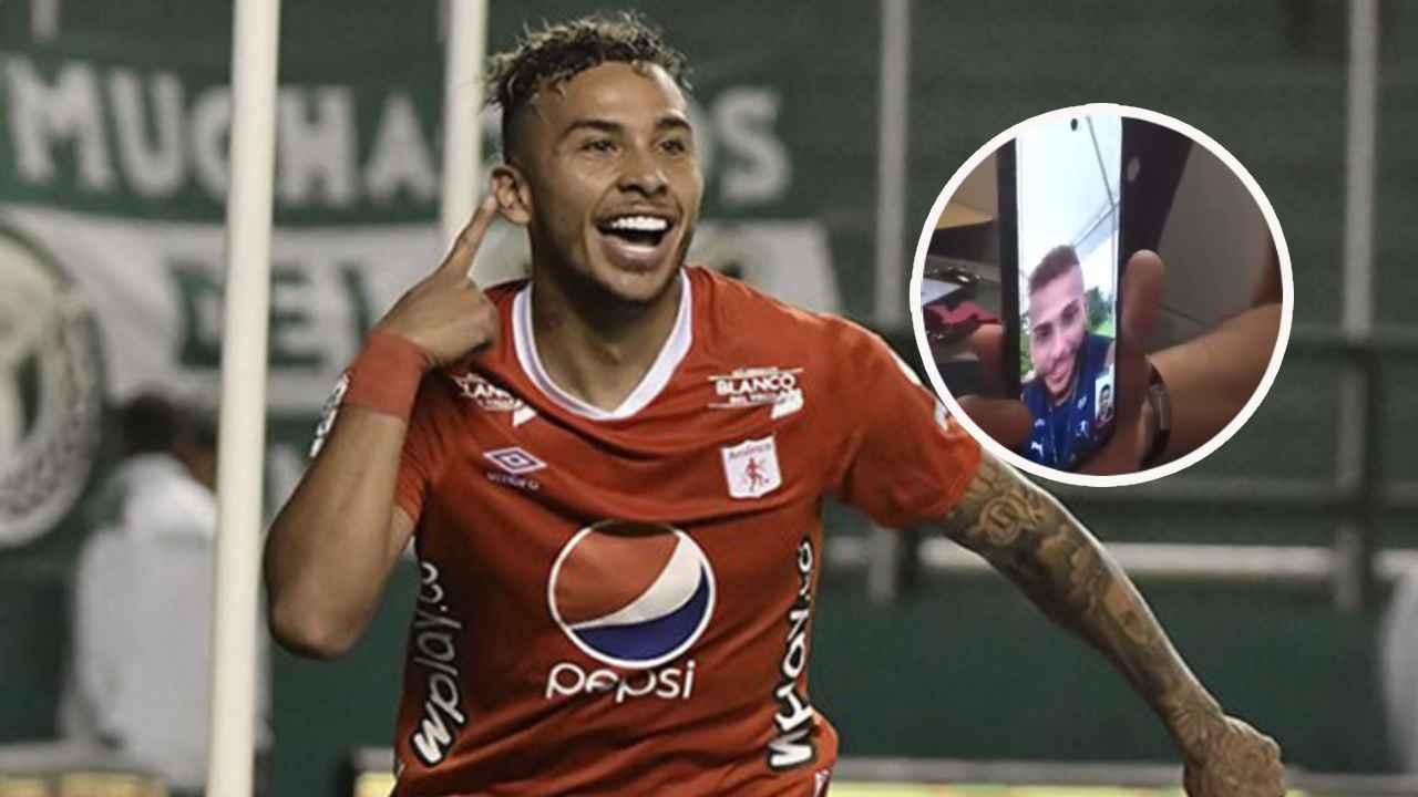 Duván Vergara, la videollamada con el niño que lloró por él y la promesa de Tulio Gómez
