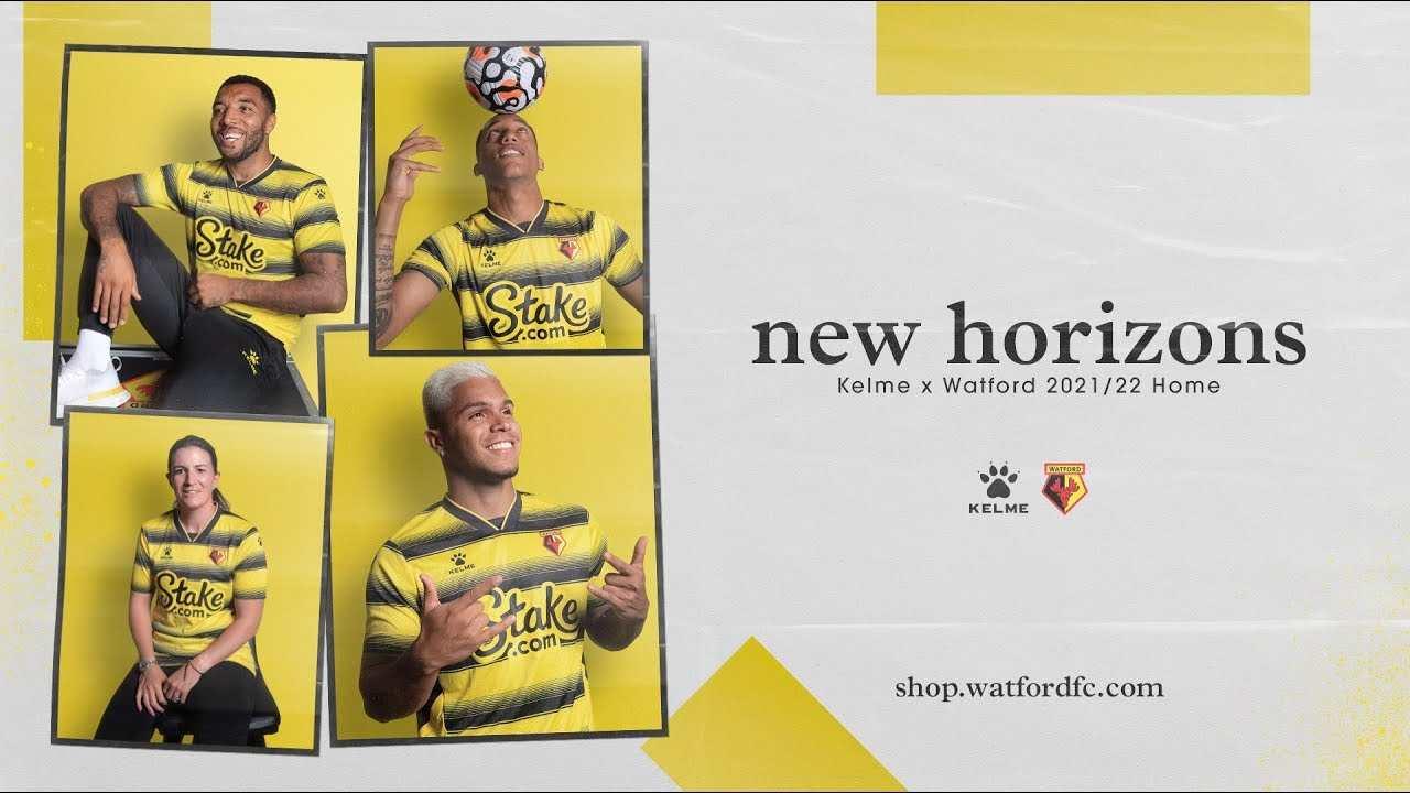 El Cucho Hernández aparece en publicidad del Watford