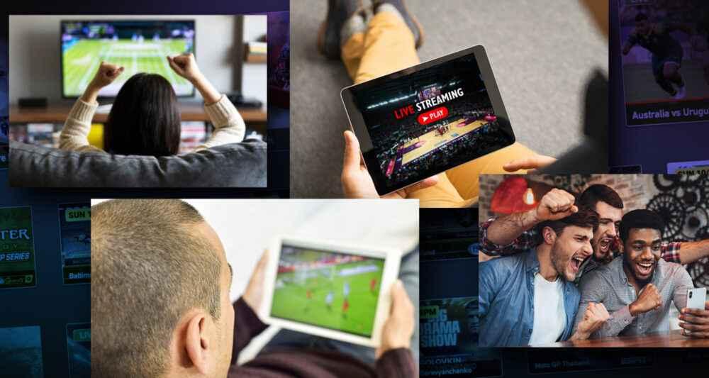 El fanático de los deportes preferiría seguir eventos por streaming