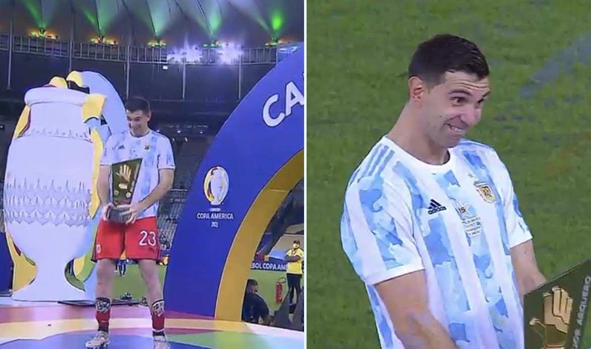 """¡Emiliano """"Dibu"""" Martínez lo volvió a hacer y en la final!"""
