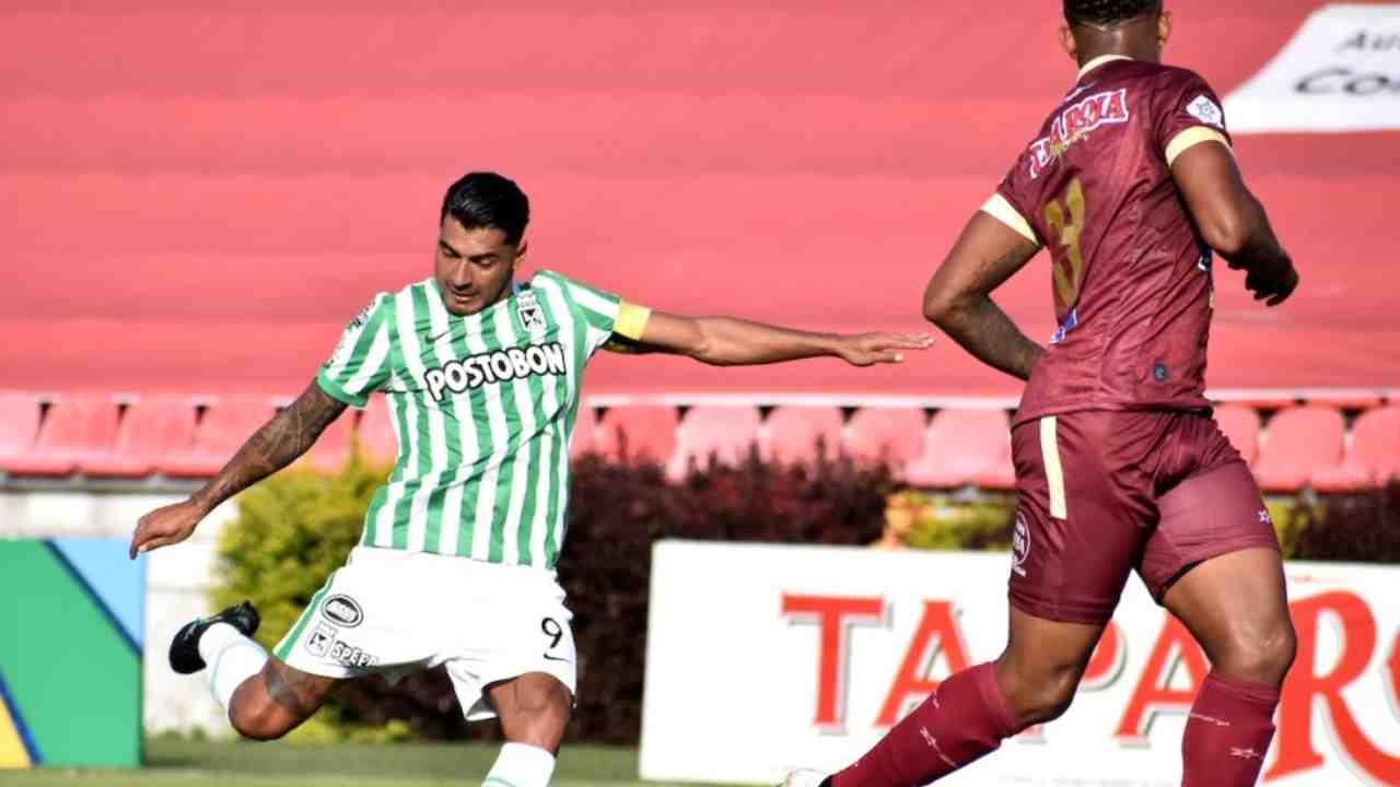 Formaciones titulares para el nuevo Atlético Nacional vs. Deportes Tolima