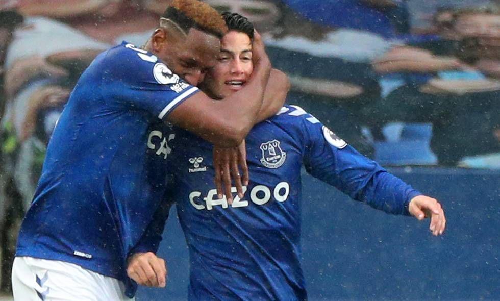 ¿El único que se alegró en Everton por la continuidad de James Rodríguez?